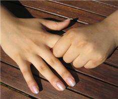 Finger hold for fear
