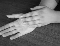 Migiraine thumb hold